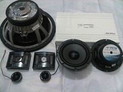 PAKET AUDIO MOBIL SQ PCA REFERENCE SERIES