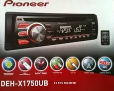 HEADUNIT SINGLE CD PIONEER DEH-X1750UB