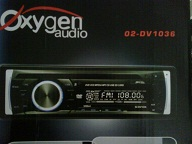 head unit single dvd player Oxygen O2-DV1036