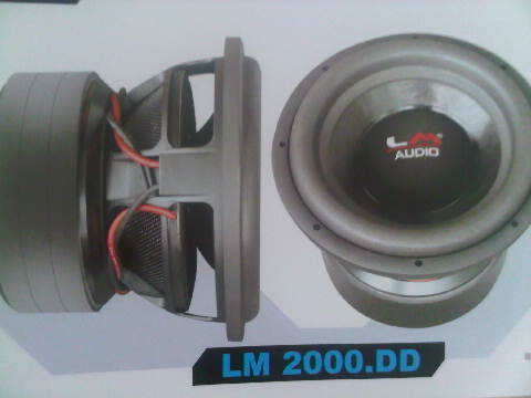 SUBWOOFER LM 2000.DD SPL COMPETITION SERIES