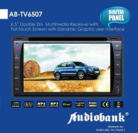 headunit tv mobil doubledin Audiobank AB-TV6507