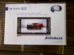 tv mobil doubledin oem for toyota innova/fortuner
