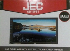 HEADUNIT TV MOBIL DOUBLE DIN  JEC GD-6981