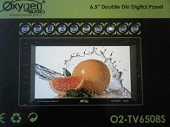 HEADUNIT TV MOBIL DOUBLEDIN OXYGEN O2-TV6508S