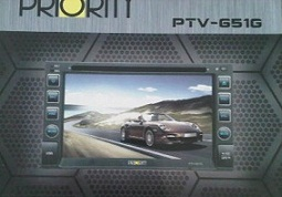 HEAD UNIT TV MOBIL DOUBLE DIN PRIORITY PTV-651G