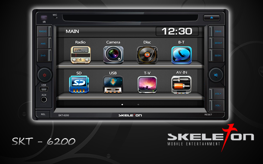 tv mobil doubledin skeleton skt-6200