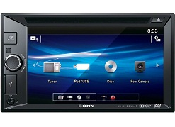 head unit tv mobil doubledin sony xav-65