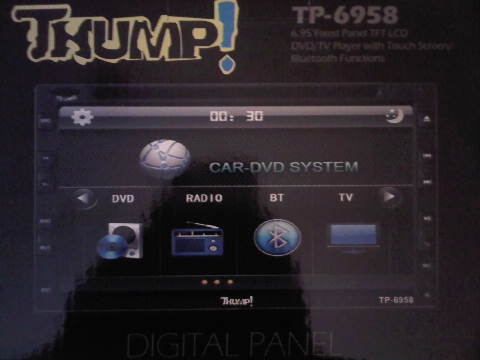HEAD UNIT TV MOBIL DOUBLEDIN THUMP TP-6958