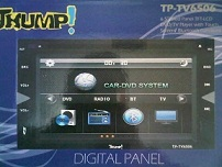 tv mobil murah doubledin Thump TP-6506