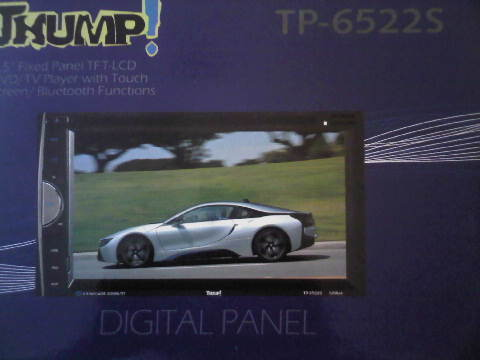 HEADUNIT TV MOBIL DOUBLEDIN THUMP TP-6522S