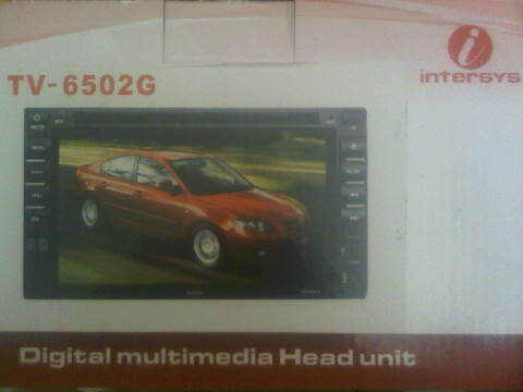 Tv mobil doubledin Intersys GPS