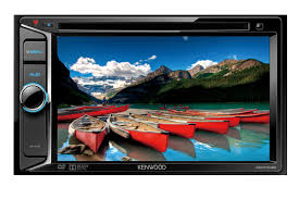 head unit tv mobil double din Kenwood ddx1035