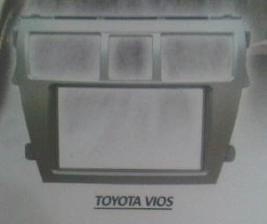 FRAME HEADUNIT DOUBLE DIN FOR TOYOTA VIOS