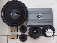 PAKET AUDIO MOBIL SQ by PEERLESS