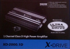 POWER MONOBLOK XDRIVE XD-2000.1
